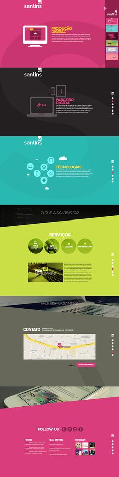 Best Web Design on the Internet, Santins #webdesign #websitedesign #website #design http://www.pinterest.com/aldenchong/