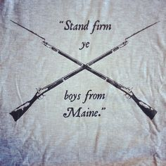 This one goes out to my Maine Men!