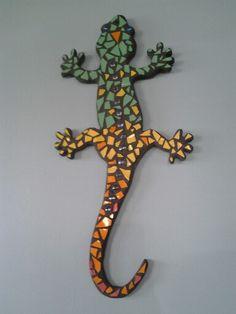 My lizard mosaic!