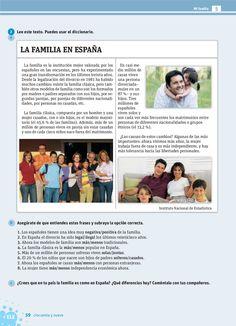 La familia en España