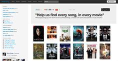 """Ever hear a song in a movie and think, """"What song is that?"""" This website lists songs by the movies they are featured in."""