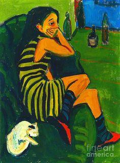 Ernst Ludwig Kirchner- German Expressionism