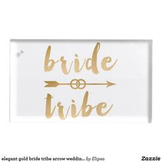Shop elegant gold bride tribe arrow wedding rings table card holder created by Elipsa. Wedding Supplies, Wedding Favors, Wedding Reception, Wedding Rings, Metal Card Holder, Gold Bridesmaids, Bachelorette Party Decorations, Table Cards, Trendy Wedding