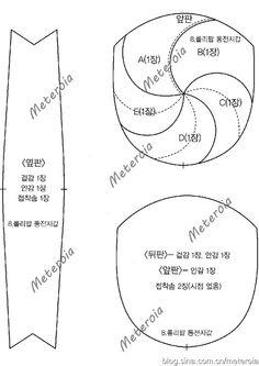 [转载]【图纸分享】韩国拼布书 <wbr>糖果口金包