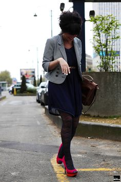 Emeline on the street