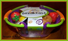 Learning Resources New Sprouts Breakfast Basket Review & Giveaway!