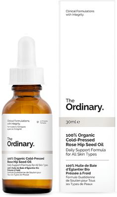 "Began use 9/29/16: ""Nature's retinol"" plus a little extra moisture for seasonal transitions.  100% Organic Cold-Pressed Rose Hip Seed Oil - 30ml"