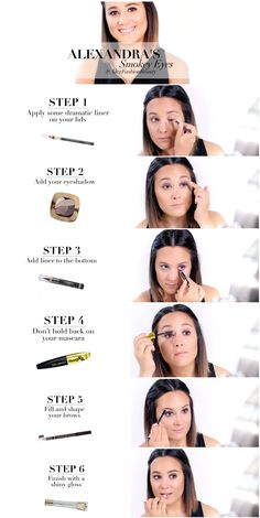 Alexandra Larouche shows you how to create a red carpet staple: the smoky eye!