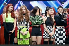 Photo album containing 29 pictures of ITZY South Korean Girls, Korean Girl Groups, Wheein Mamamoo, New Girl, Pop Group, Punk, Collection, Stage, Album