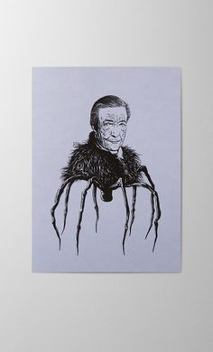 Louise Bourgeois Maman offset and screen printed greeting card artist portrait Louise Bourgeois Maman, Print Finishes, Through The Looking Glass, Letterpress, Screen Printing, Greeting Cards, Stamp, Portrait, Printed