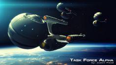 Task Force Alpha by Justin Flood