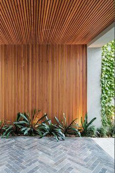 25 Best Outside Wall Art Design Ideas for Exterior Home - Outdoor Spaces, Outdoor Living, Outside Wall Art, House Entrance, Home Design Decor, Fence Design, Facade House, Small Gardens, Backyard Landscaping