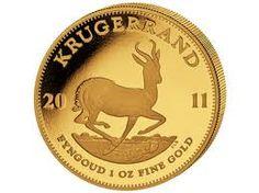 Gold Krugerrand Coin