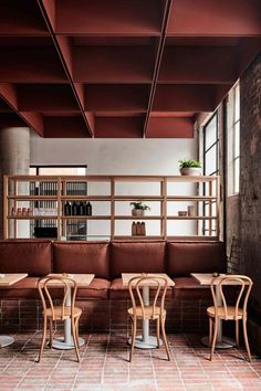Bentwood Cafe in Fitzroy, Melbourne by RITZ&GHOUGASSIAN   Yellowtrace