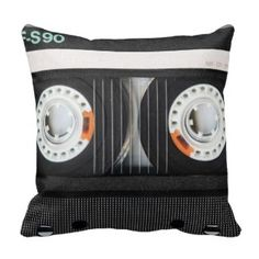 Totally Awesome 80s Cushion Designs - cassette tape