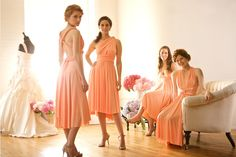 I love the idea of wrap dresses for bridesmaids.  convertible-bridesmaid-dresses-wrap-gowns-budget-wedding-ideas.png