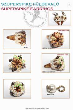 Superspike earrings