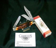 Vintage Camillus 89 Knife Sword Brand USA Circa-1975 Indian Stag W/Packaging,Papers Rare @ ditwtexas.webstoreplace.com