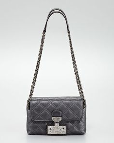 Marc Jacobs The Single Baroque Quilted Bag, Small - Neiman Marcus