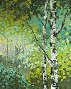 """Little Seeds"" 48""x60"" MELISSA MCKINNON Contemporary Abstract Landscape Artist features BIG COLOURFUL PAINTINGS of Aspen & Birch Trees, Rocky Mountains and stunning views of the Canadian prairies, big skies and ocean beaches. Be the first to hear about NEW PAINTINGS, works in progress and news from my studio,  Sign Up For My Monthly EMAIL NEWSLETTER: http://eepurl.com/rqj-L  Website & Blog: www.melissamckinnon.wordpress.com"