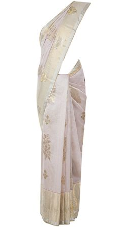 Light pink and gold sari available only at Pernia's Pop-Up Shop.