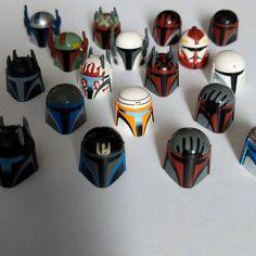 Guess what showed up today? Star Wars Rebels, Lego Star Wars, Lego Custom Clones, Lego Mandalorian, Amazing Lego Creations, Lego Figures, Legos, Branding, Kamen Rider