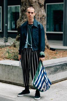 The Best Street Style From Paris Men's Fashion Week Photos   GQ Mens Fashion   #MichaelLouis - www.MichaelLouis.com