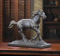 WILD STALLION STATUE There is nothing like the grace and strength of a running stallion. $24.95