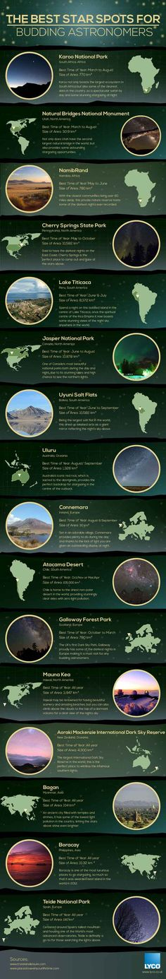 | Perfect Stargazing Spots From Around The World | The Best Places to Visit, check it out at http://pioneersettler.com/stargazing/