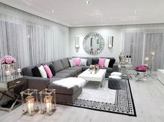 45 neutral living room ideas earthy gray living rooms to copy 30 - My best home decor list Living Room Decor Cozy, Living Room Grey, Home Decor Bedroom, Home Living Room, Apartment Living, Living Room Designs, Luxury Living, Modern Living, Small Living
