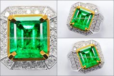 Sparkling Fresh Bluish Green ZAMRUD Colombia Top  (EM 094)