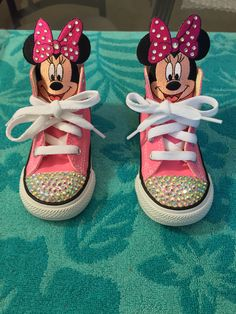 Minnie Mouse theme with a touch of bling/swarovski crystals!!!
