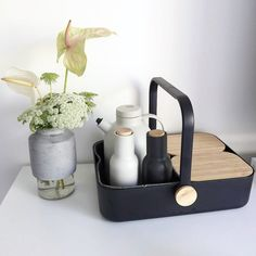 www.obtaindesign.com.au - Willmann Concrete Vase + Multi Basket + Bottle Grinders + Thermo Jug