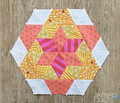Sweet Tooth Block 3 - Gumdrop | Jaybird Quilts