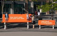 """Denver Water - """"Use Only What You Need"""" guerilla marketing and advertising campaign Print Advertising, Advertising Campaign, Print Ads, Marketing And Advertising, Online Marketing, Internet Marketing, Social Marketing, Ads Creative, Creative Advertising"""