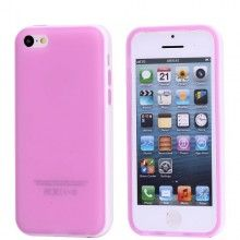 Funda iPhone 5C - Gel Violeta Blanco  AR$ 38,76