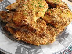 Bifinhos de frango panados com mostarda (no forno)