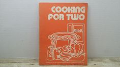 Cooking for Two, 1974, US Dept of Agriculture, vintage cookbook by RandomGoodsBookRoom on Etsy