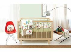 Treetop Friends Crib Bedding - 4-Piece Set  Pretty sure this is the one I want :)