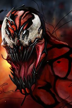 Marvel's Carnage (a personal favorite of The Literary Dark Prince)