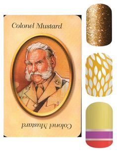 """""""JAmberry - Clue - Colonel Mustard"""" by kspantonjamon on Polyvore featuring beauty"""