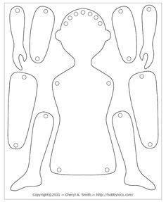 Shrinky Dink Art Doll Pattern Free Download