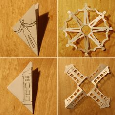 Kick Off the Holidays With Doctor Who Snowflakes