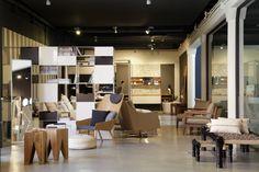 Vista general del showroom de #aquaquae.