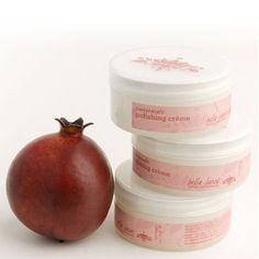 Bella Lucce Pomegranate Polishing Cr?me by Bella Lucce. $17.00. Twice a week, massage a small amount of polishing crème onto face; rub gently, using circular motions, paying special attention to the forehead, cheek bones and bridge of the nose. Do not use pressure; rinse well with warm water and follow with a moisturizer.. Pomegranate extract, naturally rich in age-reversing ellagic acid, is the cornerstone of this unique exfoliating cr?me. Tiny microderm abrasion crystals ...