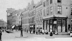 Ganzenmarkt 1900, Utrecht