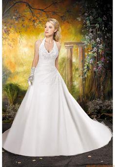 Organza Preiswerte Brautkleider 2014