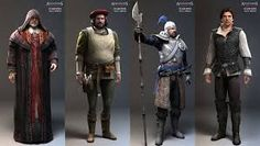 Image result for assassin's creed character concept art