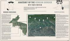 Anatomy of the Korean border by Pisseguri82 #map #korea #northkorea #southkorea