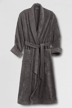 I just want a normal terry bath robe that isn't: white, velour, plush, microfiber, etc. Men's 11-oz. Turkish Terry Full-length Robe from Lands' End